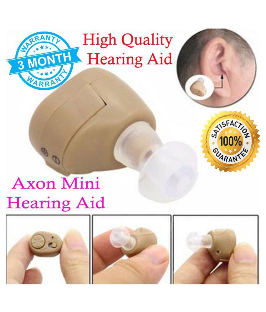 IND Axon Mini Hearing Aid Ear Sound Amplifier Volume Adjustable Wireless Hearing Sound Amplifier Hearing machine