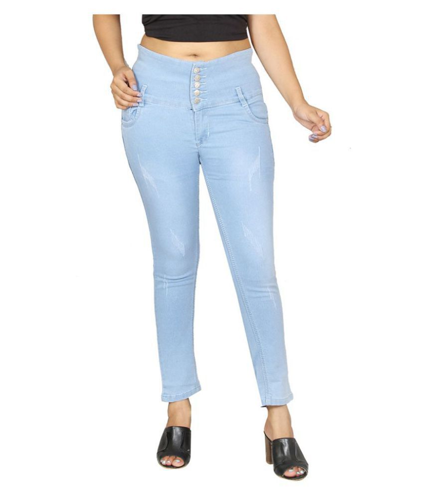 Avenew Fashions Denim Jeans Dungarees - Blue