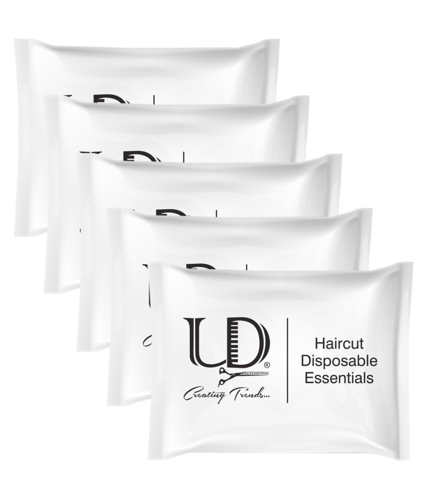 UD Haircut Disposable Essentials Kit, Useable for both Men and Women Facial Kit 40 g Pack of 5
