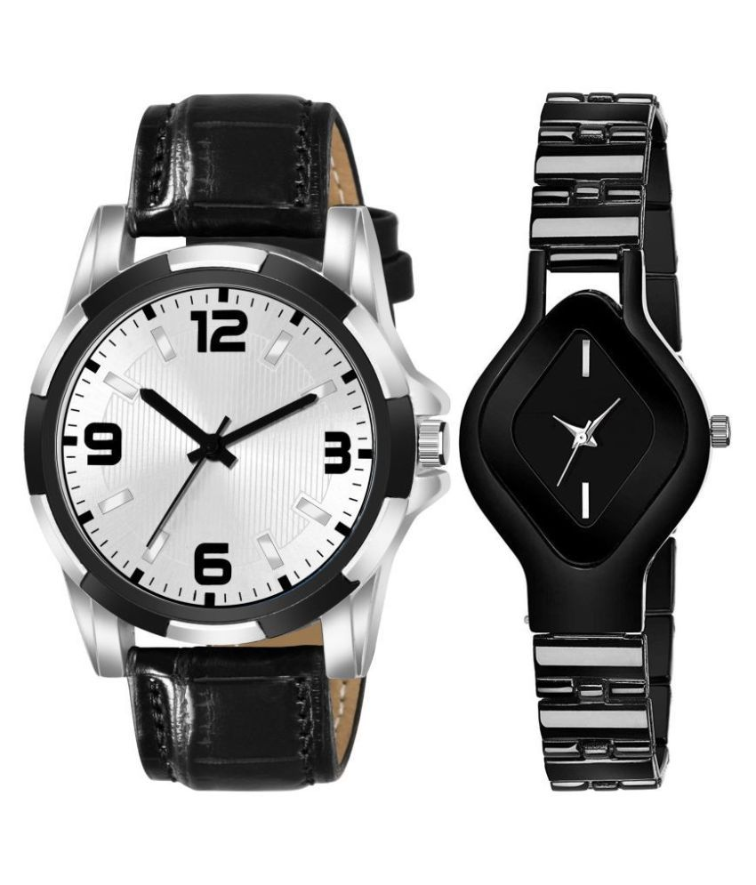 VRUTTI ENTERPRISE K_8128_L_714 EXCLUSIVE LEATHER STRAP ANALOG QUARTZ WATCH FOR MEN AND WOMEN