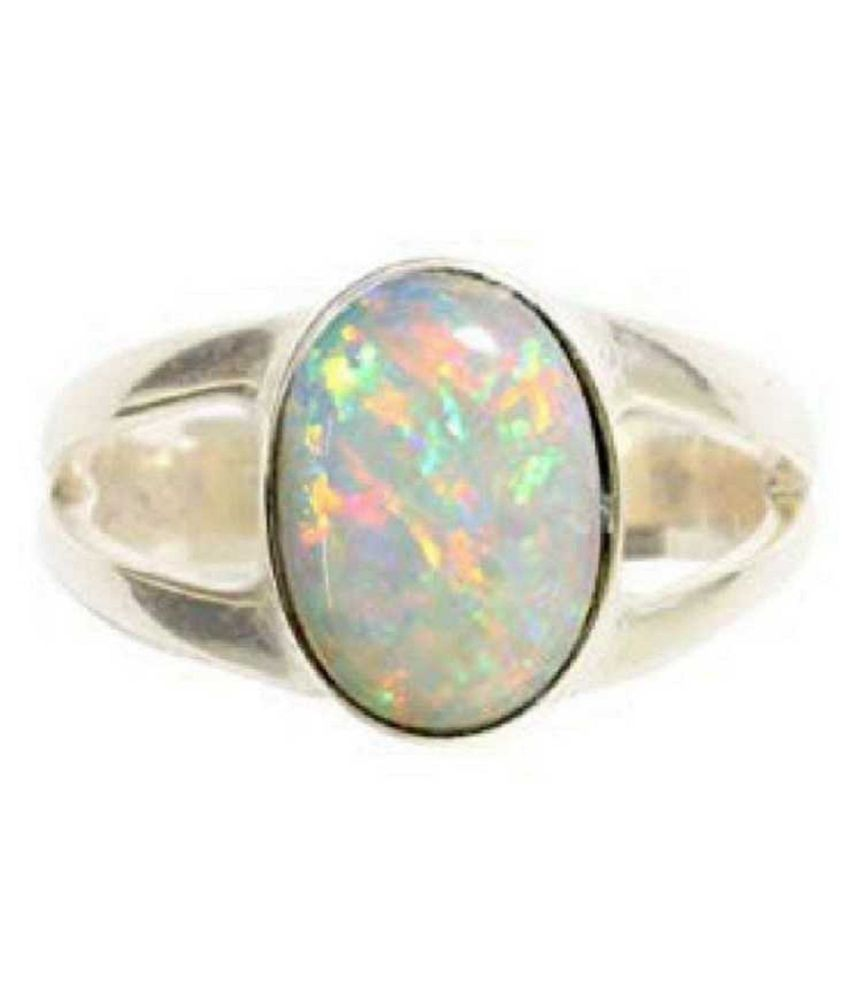 OPAL Natural & Unheated Stone  4 Ratti Gold Ring by Kundli Gems