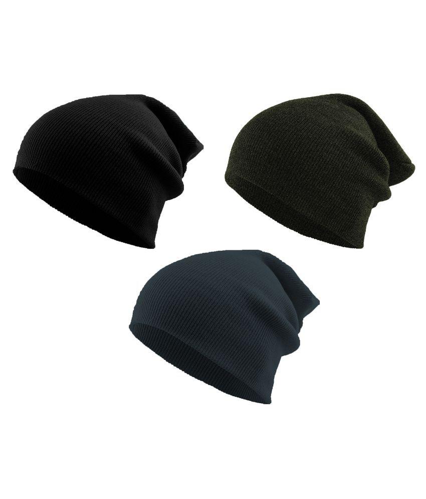 THE BLAZZE Multi Color Plain Fabric Headwraps