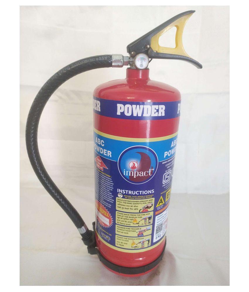 IMPACT Fire Extinguisher - ABC Type -  9 Kg Fire Extinguishers