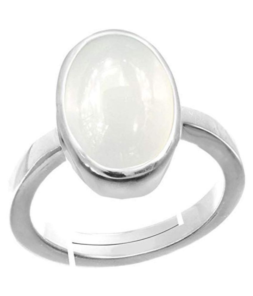 A1 Gems 7.25 Ratti 6.42 Carat A+ Quality Opal Gemstone Ring for Women's and Men's