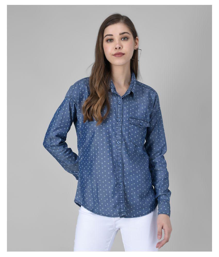 The Dry State Navy Denim Shirt