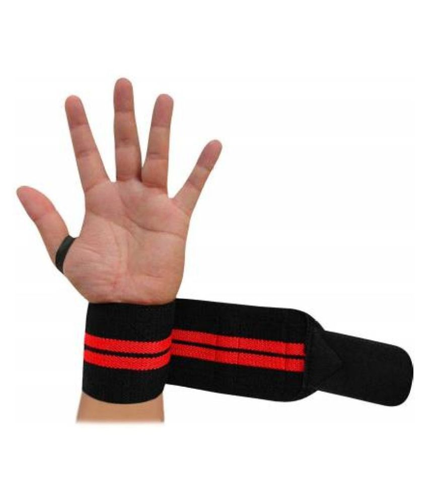 Gym Wrist Band with Thumb Support 1 Pair