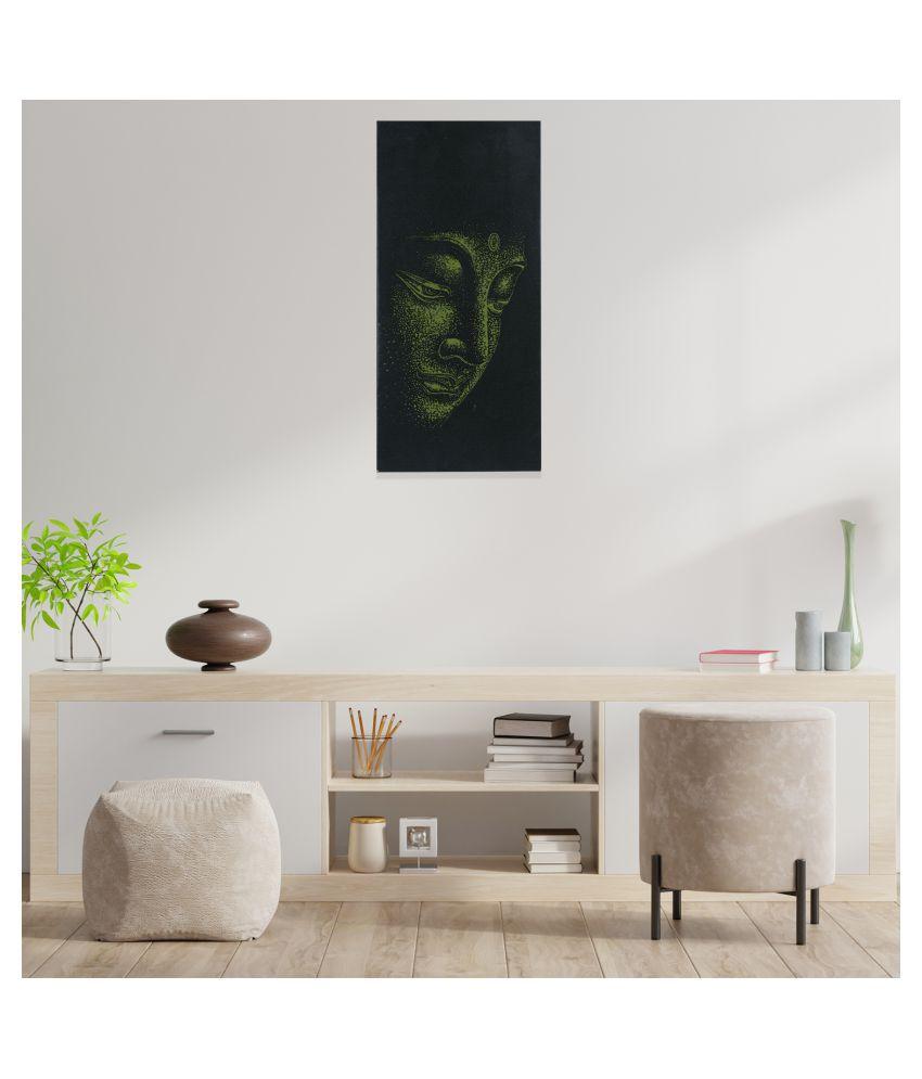 N Vir Pre Press Canvas Painting With Frame