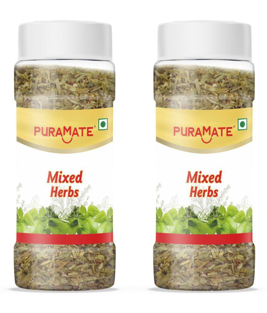 Puramate Seasoning - Mixed Herbs, 30 g Pack of 2