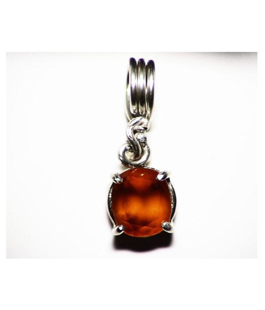 Hessonite (Gomed)  Pendant 11 carat by Ratan Bazaar
