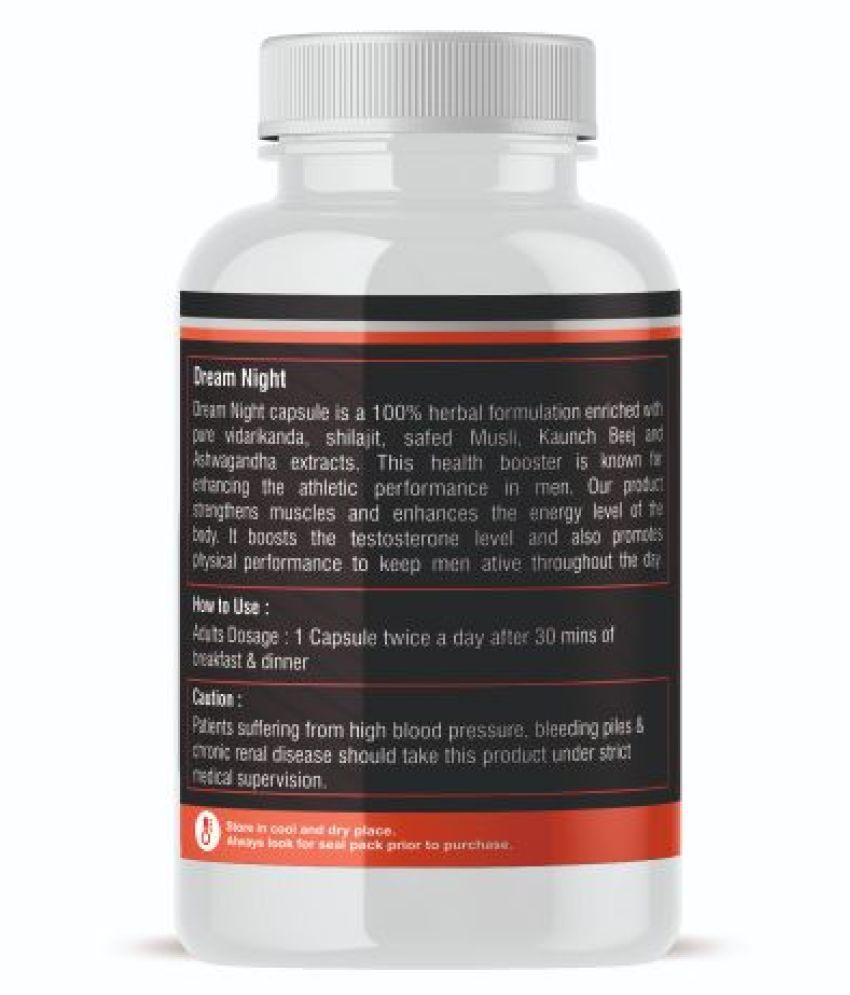 Nutralytes Natural Testosterone Booster 800 mg Vitamins Capsule: Buy Nutralytes Natural