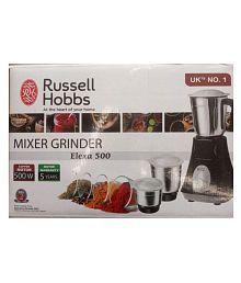 Russell Hobbs Elexa 500 500 Watt 3 Jar Mixer Grinder