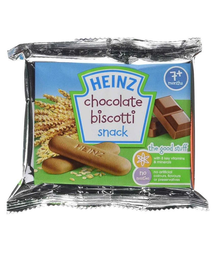 Heinz Chocolate Biscuits for 6 Months + ( 60 gm )