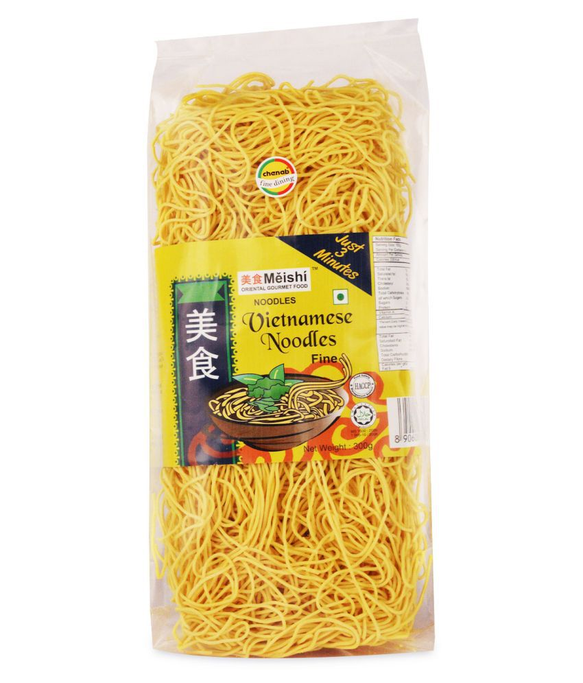 Meishi Mi Vietnamese Whole Wheat Noodles 300 gm Pack of 2