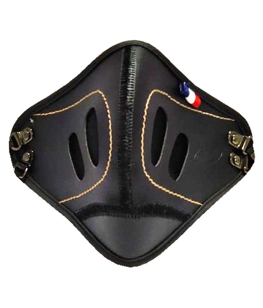 Anti Polution Mask , Best Quality Mask ( 1- Packs ) Leather Black