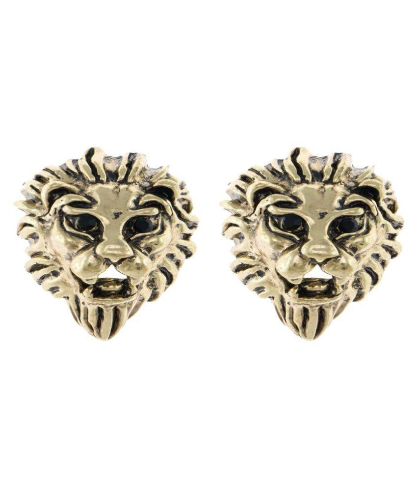 New Designs Shrungarika Alloy Silver Stud earrings