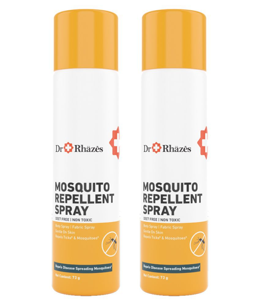 Dr Rhazes Mosquito Repellent Spray Mosquito Repellent Spray 146 g Pack of 2