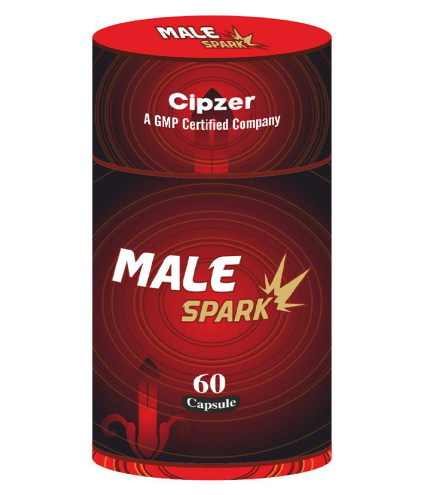Male Spark - (For Sxual Energy & Stamina) M1 Capsule 60 no.s Pack Of 1
