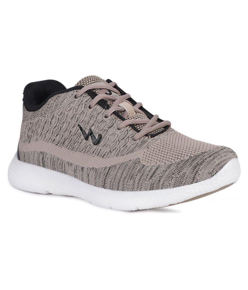 Campus CREST Beige Running Shoes
