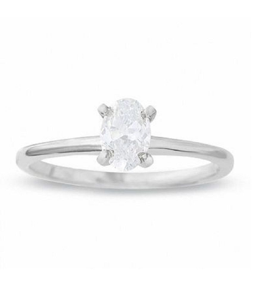 Natural Lab Certified 9 carat  Original White Sapphire Stone Silver Ring for unisex by KUNDLI GEMS\n