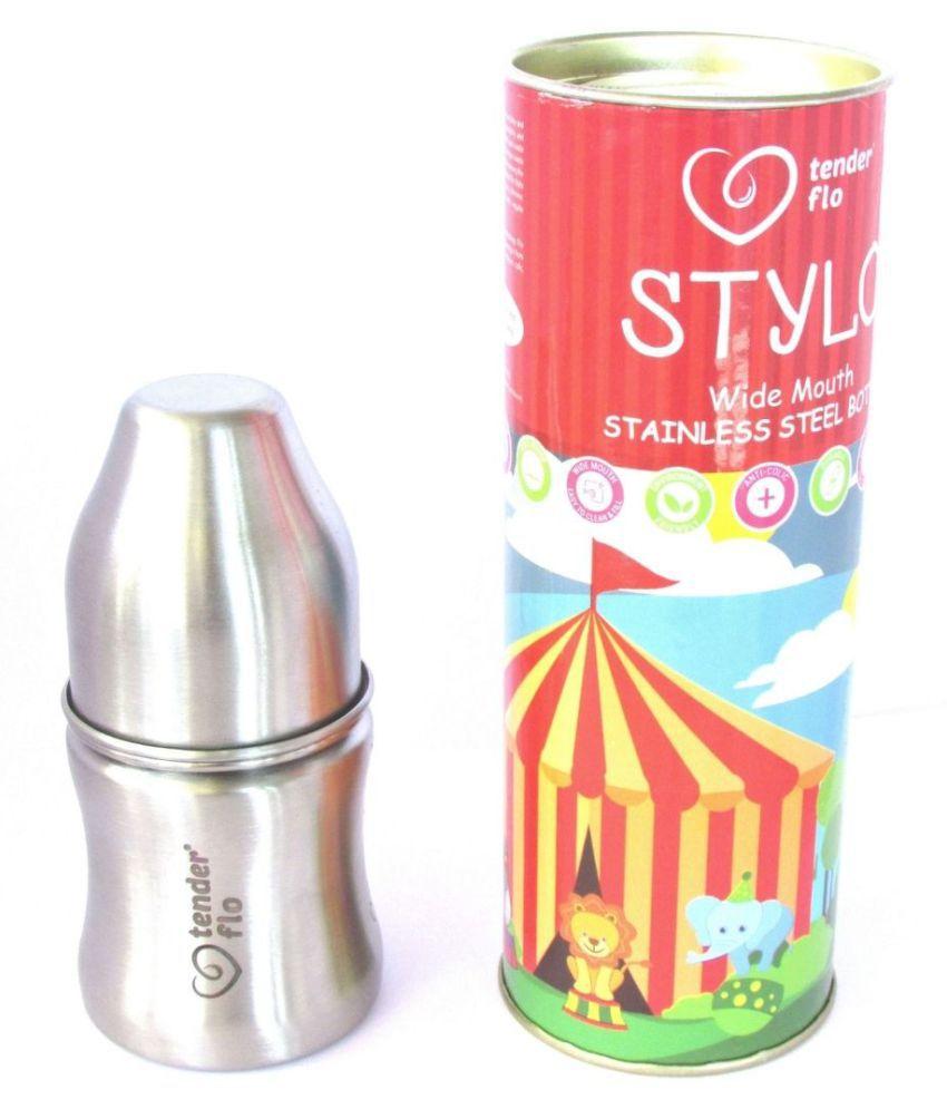 Stainless Steel Baby Feeding Bottle, Milk Feeding, Water Feeding 125 ml.