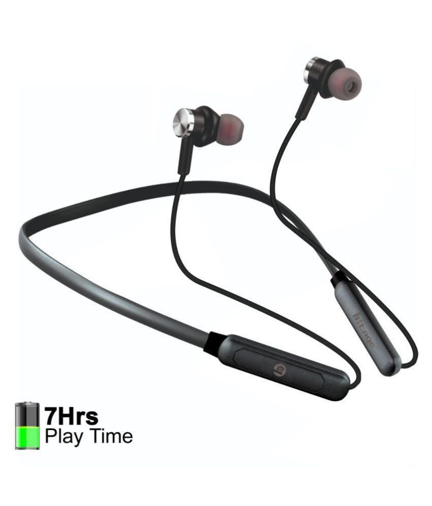 hitage wireless music Sports bluetooth headset Neckband Wireless With Mic Headphones/Earphones