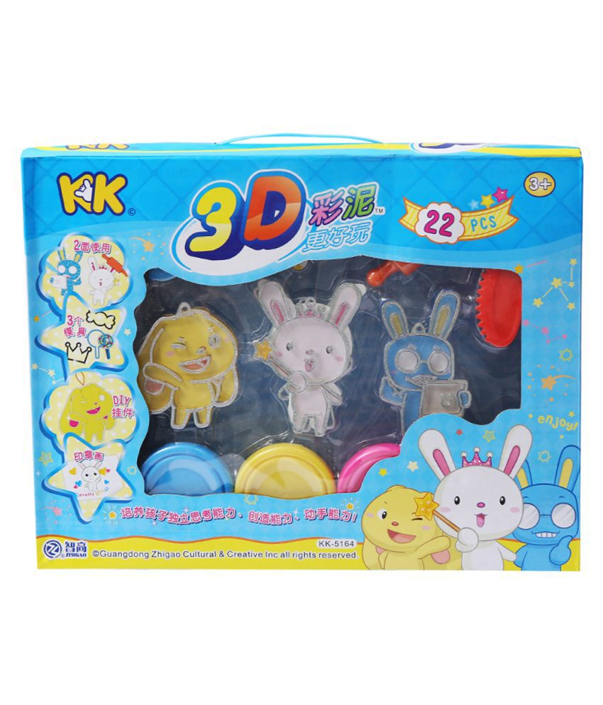 3D color DIY Modeling Clay Toy