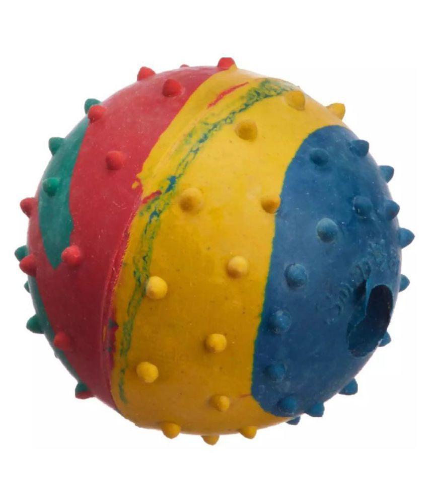 KOKIWOOWOO Rubber Ball Toy for Dog Medium