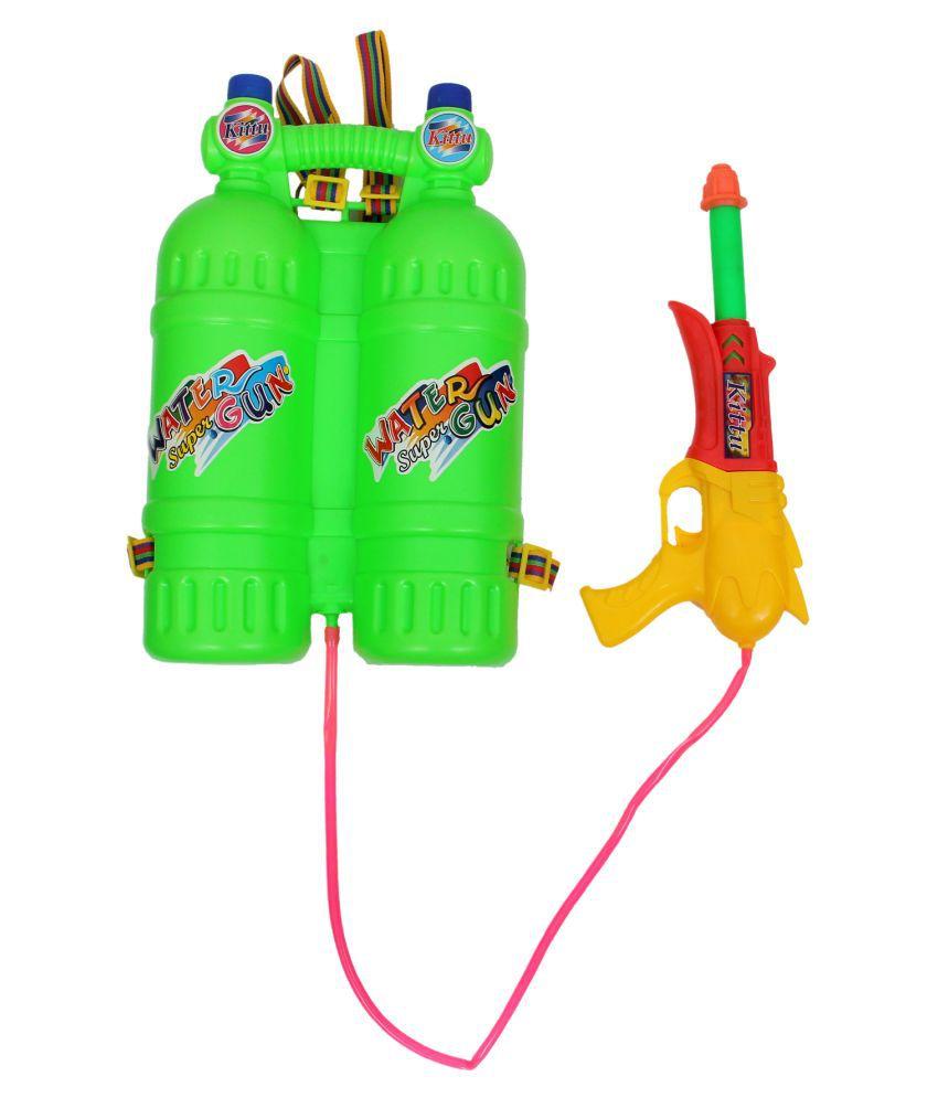 Kittu Plastic Holi Colours Multicolour - Pack of 1
