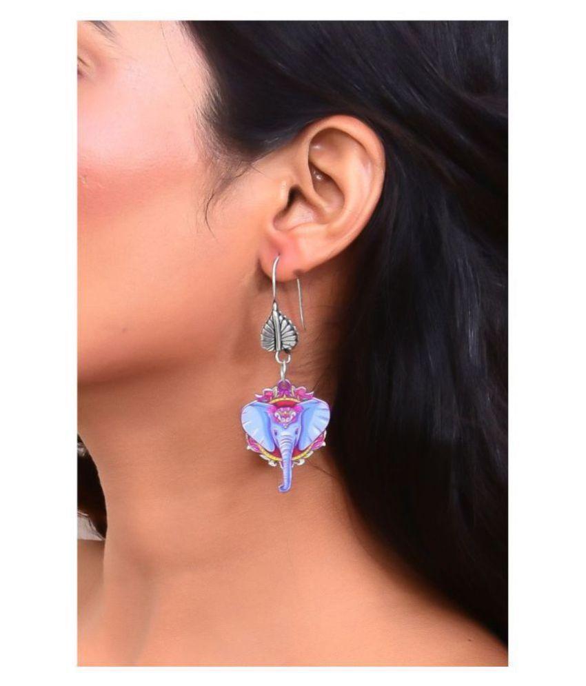 Cute Baby elephant Dangling Earrings
