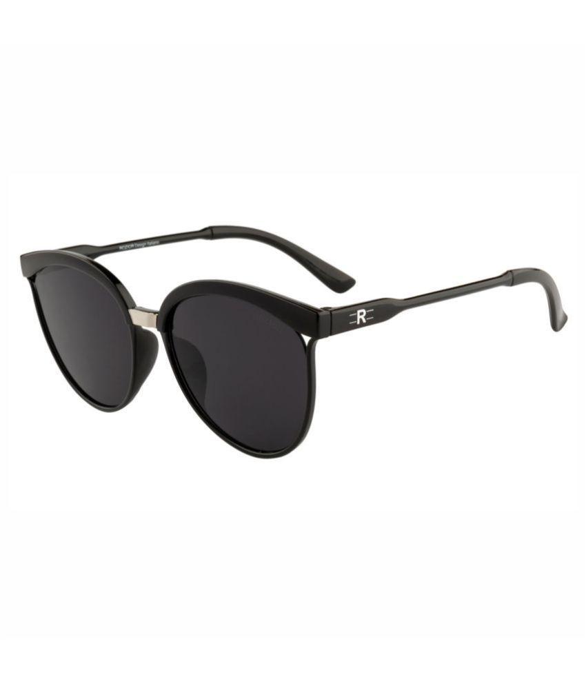 ROZIOR - Black Cat Eye Sunglasses ( Women RSUJH15940C1 )