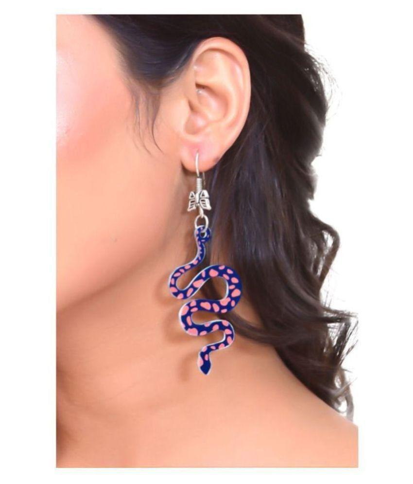 Snake Dangling Earrings
