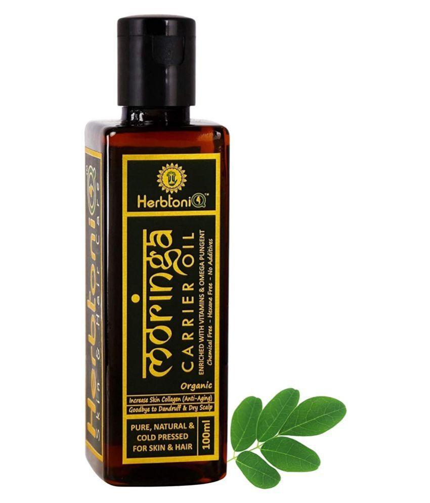 HerbtoniQ Moringa Carrier Oil For Skin & Hair Care 100 mL