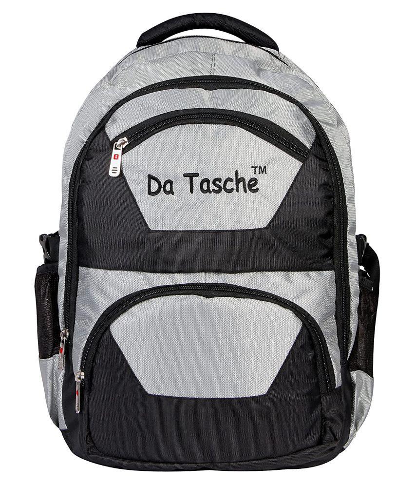 Da Tasche Black Polyester 38 Ltrs College Bag