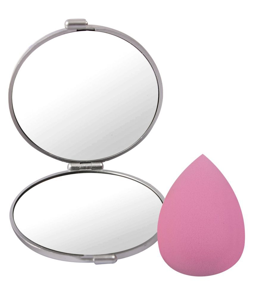 Gubb Quick Touch Up Combo Sponge 75 g Professional Beauty Blender & Compact Mirror