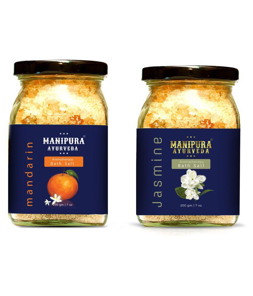 Manipura Ayurveda Combo pack Crystal Bath Salt 200 g Pack of 2