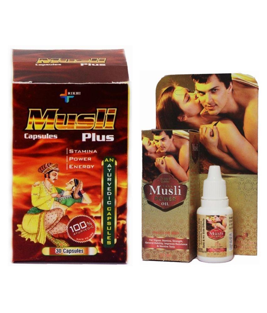 Herbal Care Musli Plus 30 Capsule & Musli Power Oil 15 ml