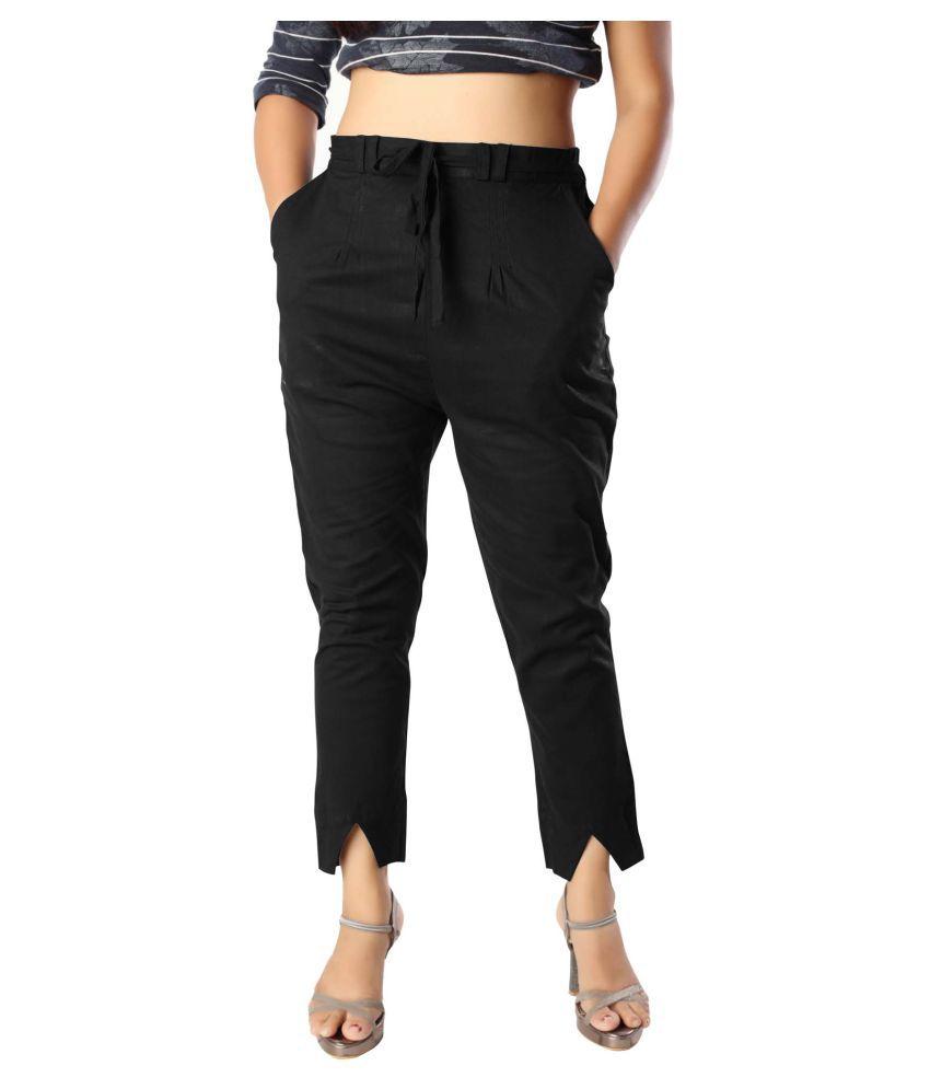 elenia Cotton Jeans - Black