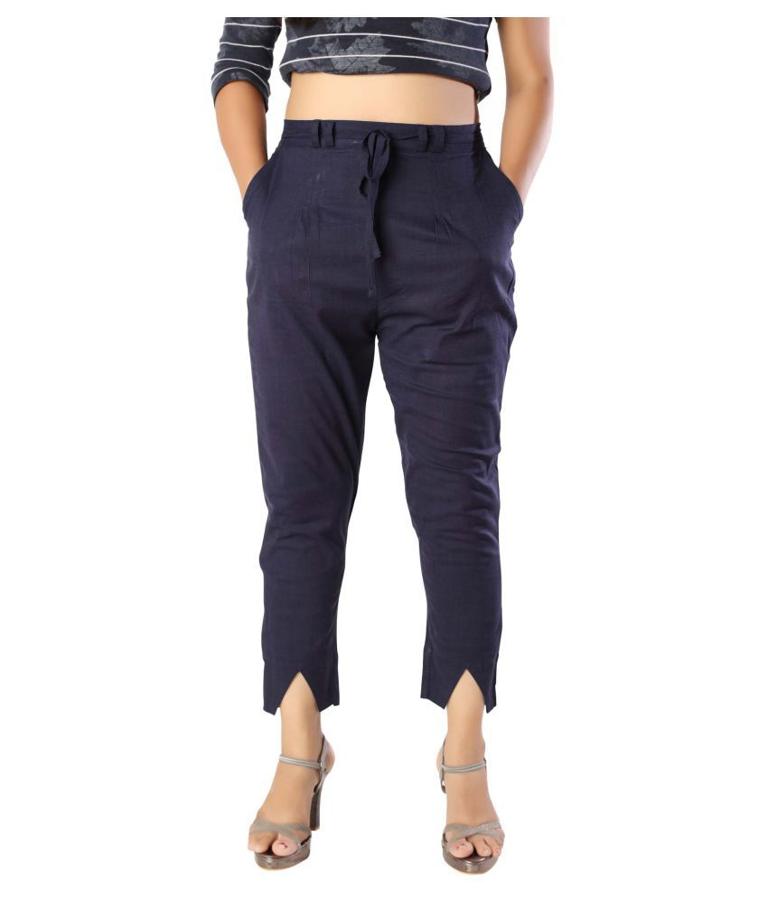 elenia Cotton Jeans - Navy