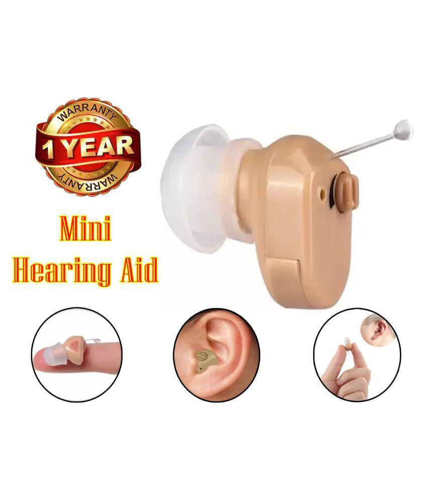 IND Mini Hearing Aid Digital Ear Sound Amplifier Volume Adjustable Body Health Care HEARING  Aid