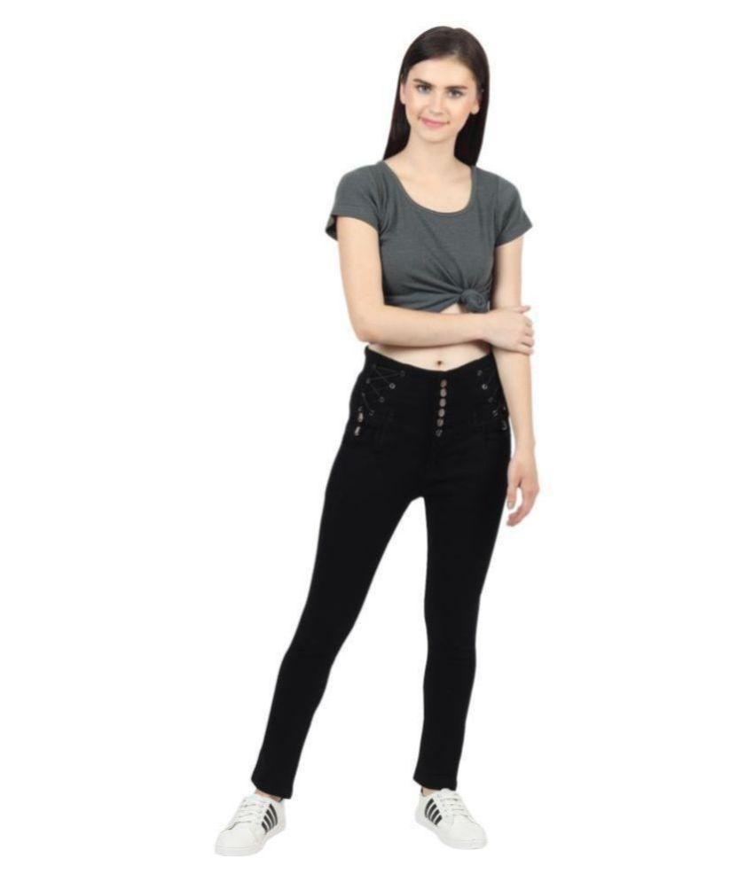 Veravibe Denim Jeans - Black