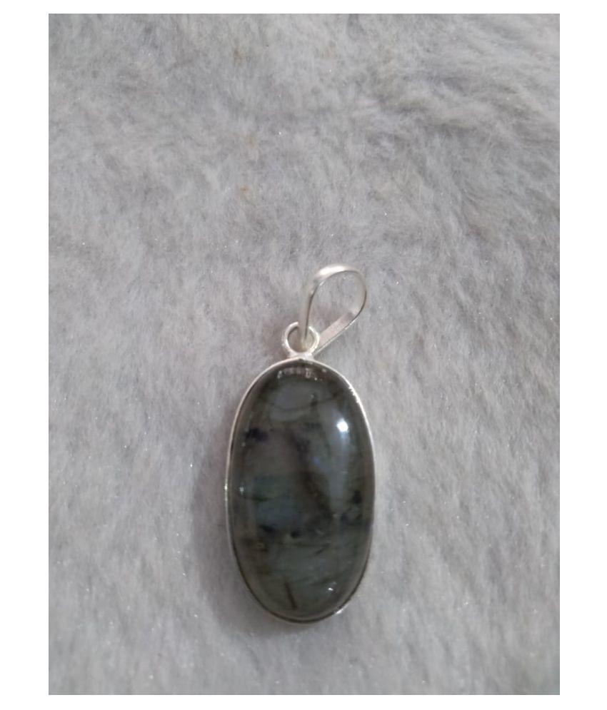 Labradorite Natural Agate Stone Pendant