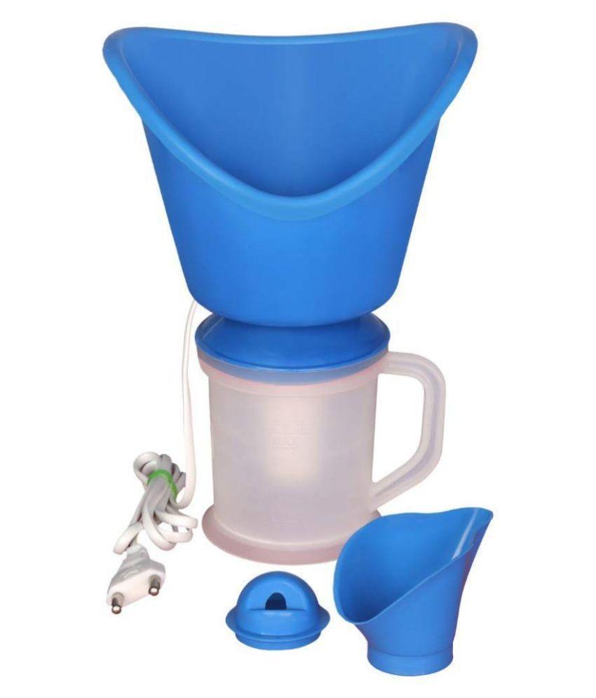 SRISH 3 IN 1 Steam Vaporizer , Nose , Cough Steamer, 20 cm Adult BLUE