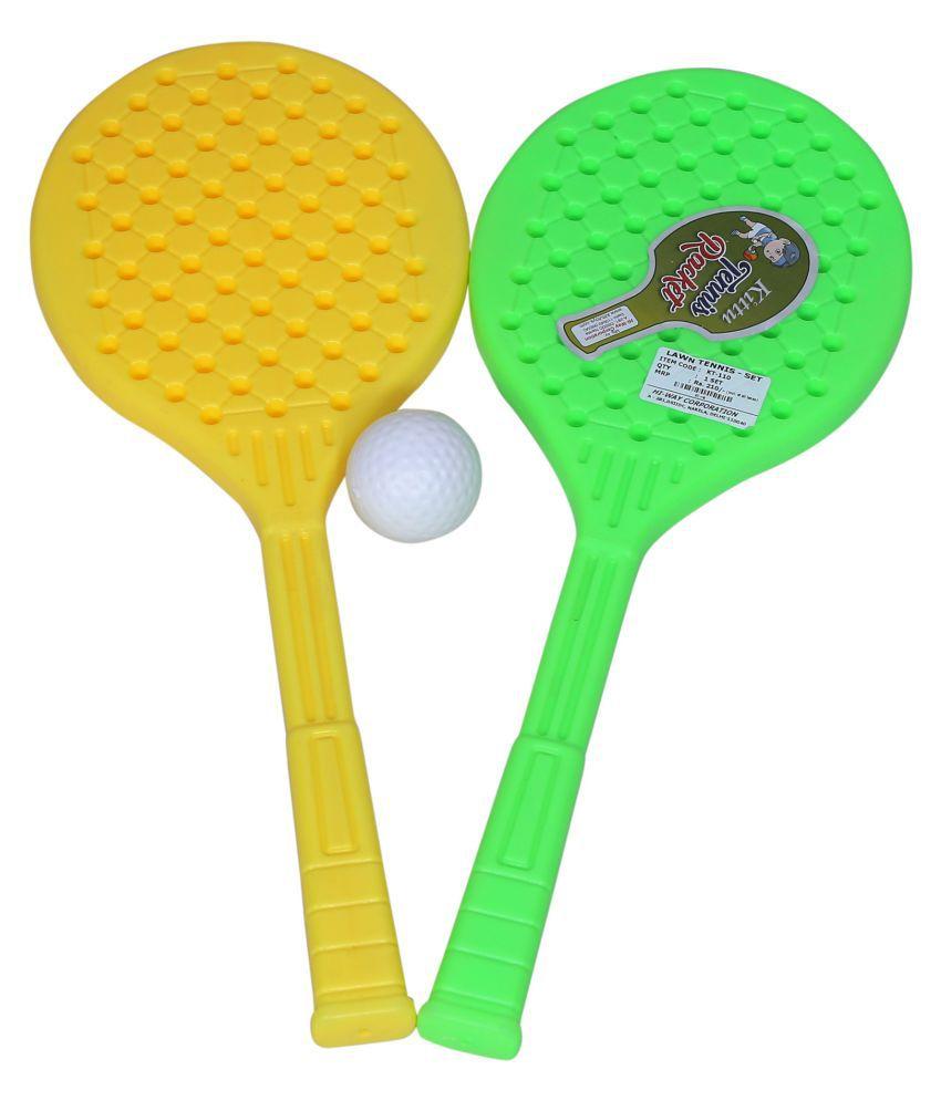 Kittu TABLE TENNIS RACKET Tennis Racquet MultiColour
