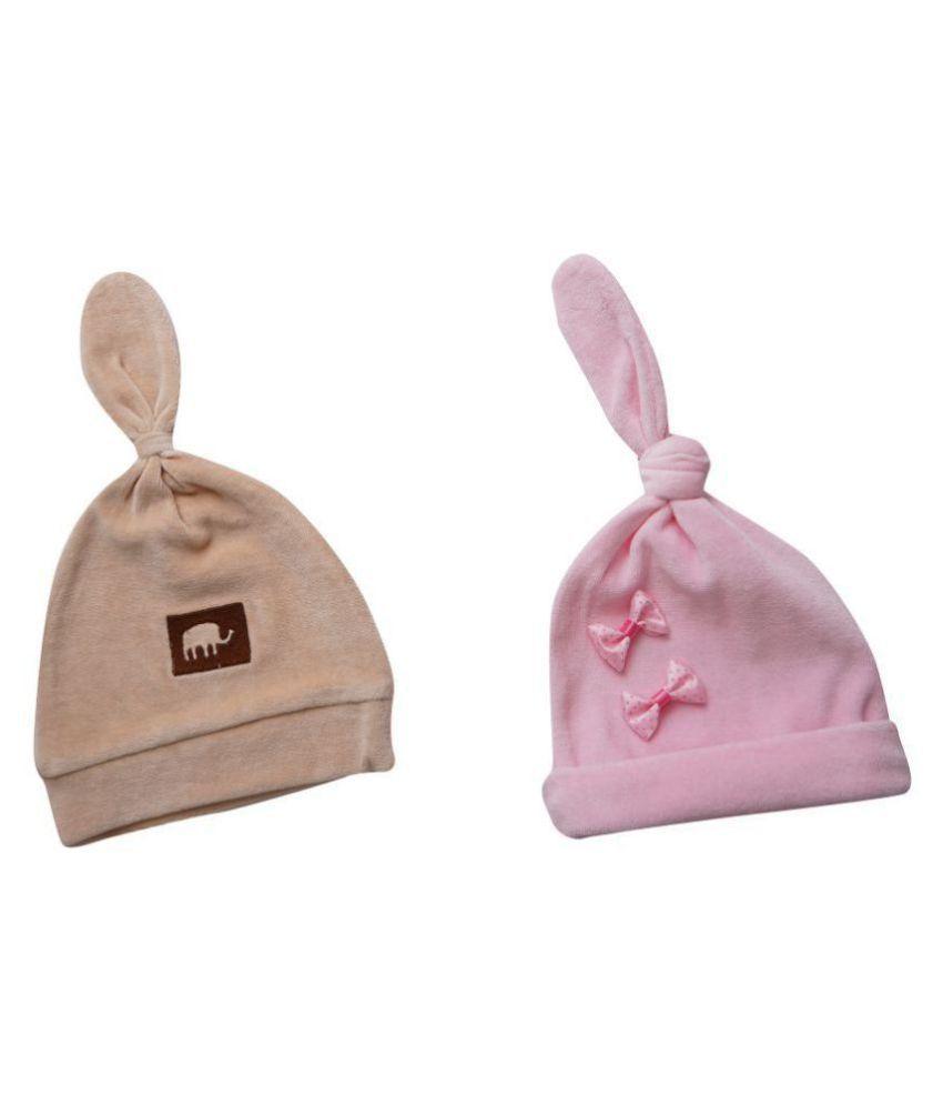Rabbit Pocket Winter Kids Caps