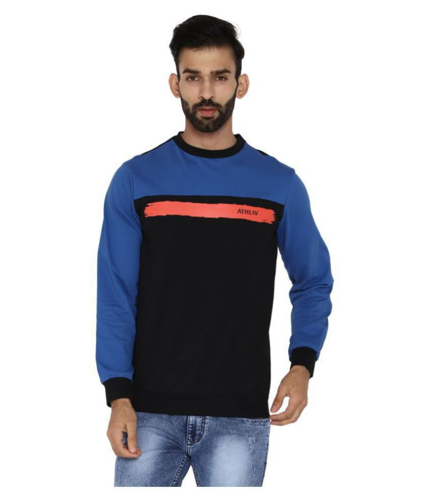 ATHLIV Black Sweatshirt
