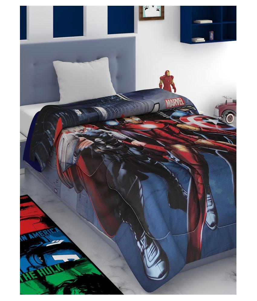 MARVEL HOME FURNISHING Single Polyester Printed Blanket