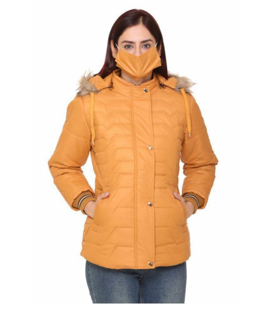 END EDGE Nylon Orange Jackets