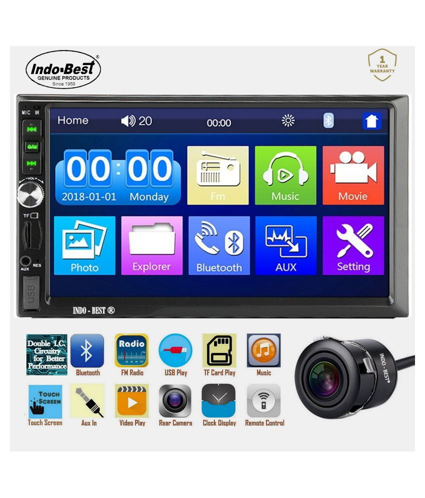 INDO-BEST Double DIN Car Stereo