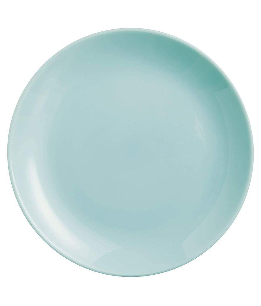 Incrizma Diwali Dinner plate Opalware Dinner Set of 4 Pieces