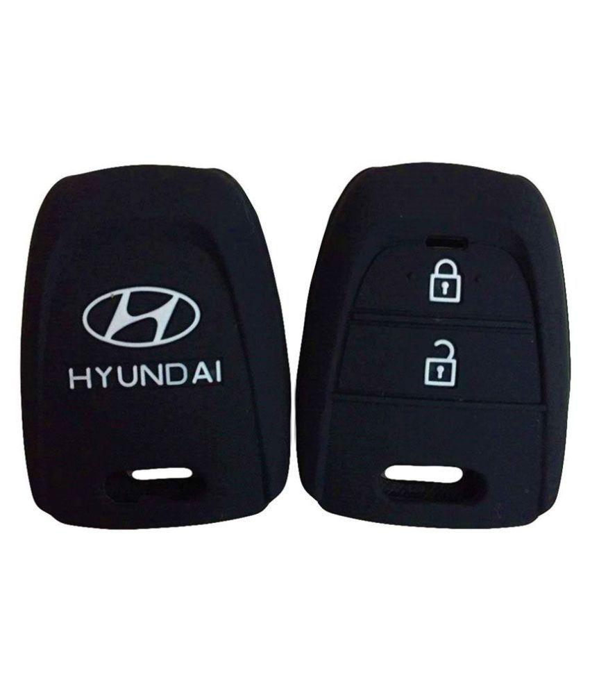 Shiv Medicos Silicone Key Cover for Hyundai Grand i10 2 Button